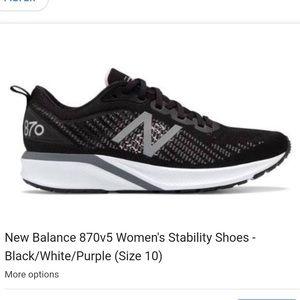 Never used women New Balance 870v5 size 10